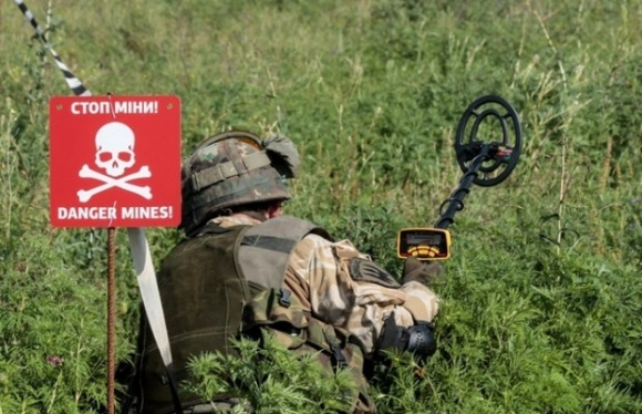 Розміновані території Донбасу не придатні для вирощування сільгоспкультур фото, ілюстрація