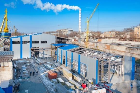 «Нибулон» завершает первый этап модернизации судостроительного завода фото, иллюстрация