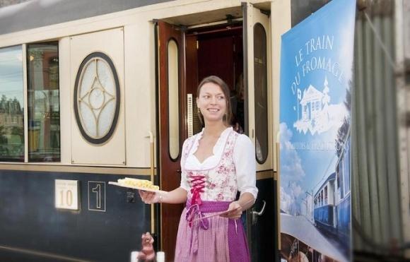 В Швейцарии запустили экскурсии на Сырном поезде фото, иллюстрация