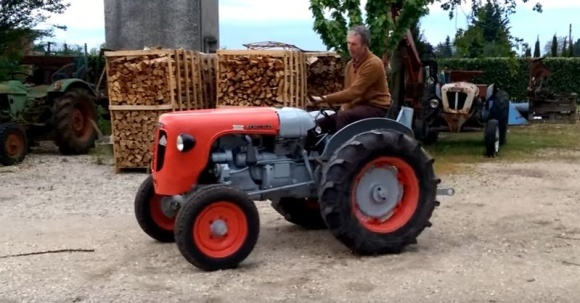 Lamborghini возобновила выпуск ретро-тракторов (Видео) фото, иллюстрация