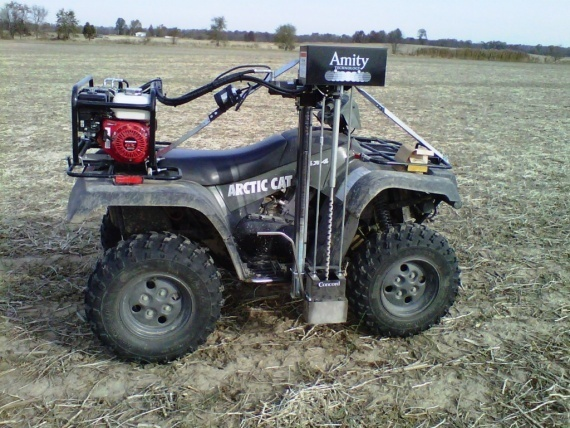 Грунтовідбірник Amity A2450 на базі мотовсюдиходу