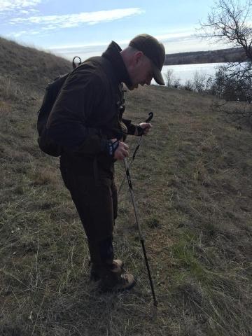 Влітку херсонські любителі природи виходять на прогулянки. Фото з профілю Йохана Бодена на Facebook