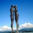 """Статуя кохання в Батумі """"Алі та Ніно"""""""