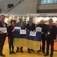 Українська делегація на продовольчій виставці в Японії. Крайній праворуч - Юрій Луценко